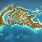 Von der Natur inspiriertes Designs auf Shurayrah Island
